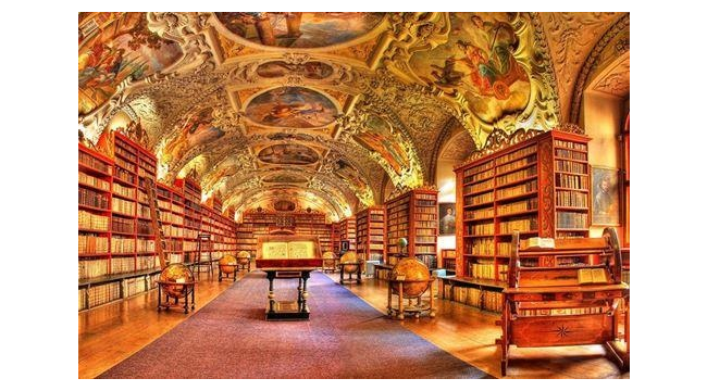 Страговский монастырь в Праге, Чехия